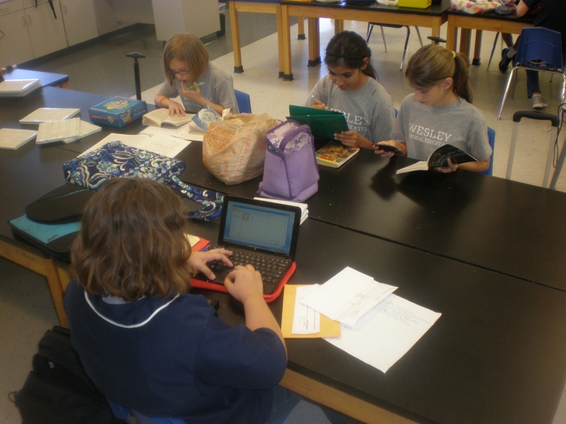 image of kids in class