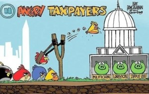 angry birds occupy wall street
