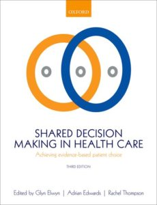 OUP Shared Decision Making 3rd Ed cover