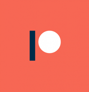 patreon logo orange square